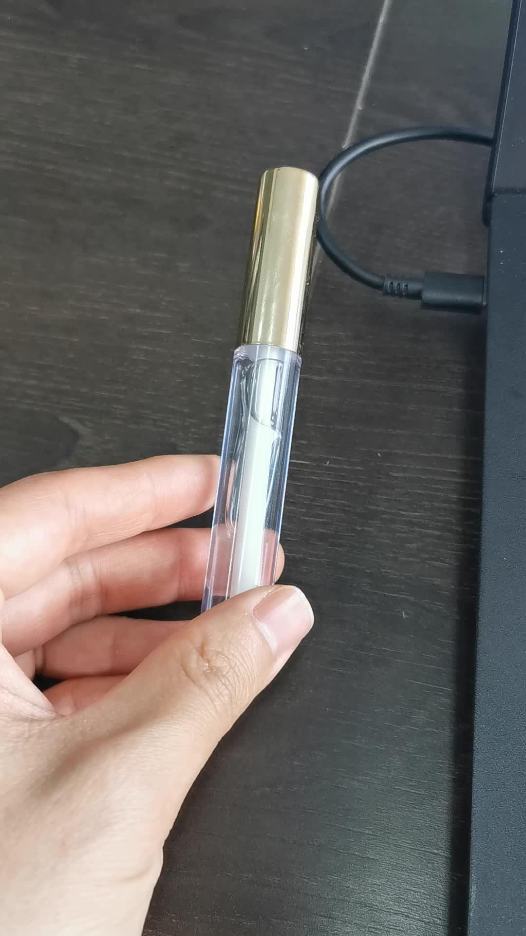 Private label beauty product vegan clear lip plumper gloss custom clear lip gloss base