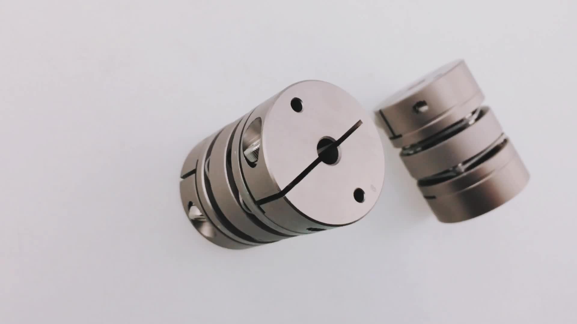 LD2-D34L45 stainless steel Flexible Shaft Diaphragm coupling for Servo motor