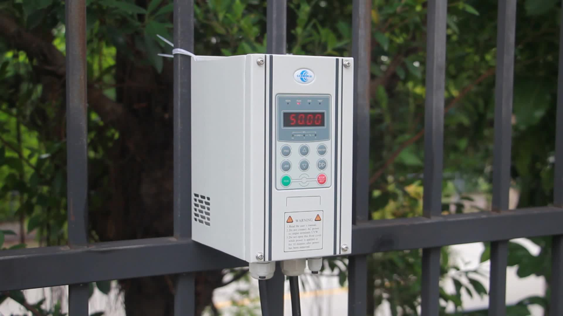 IP54 IP55 IP65 rated single three phase 380V  480V VFD VSD ac variable frequency speed drive inverter converter