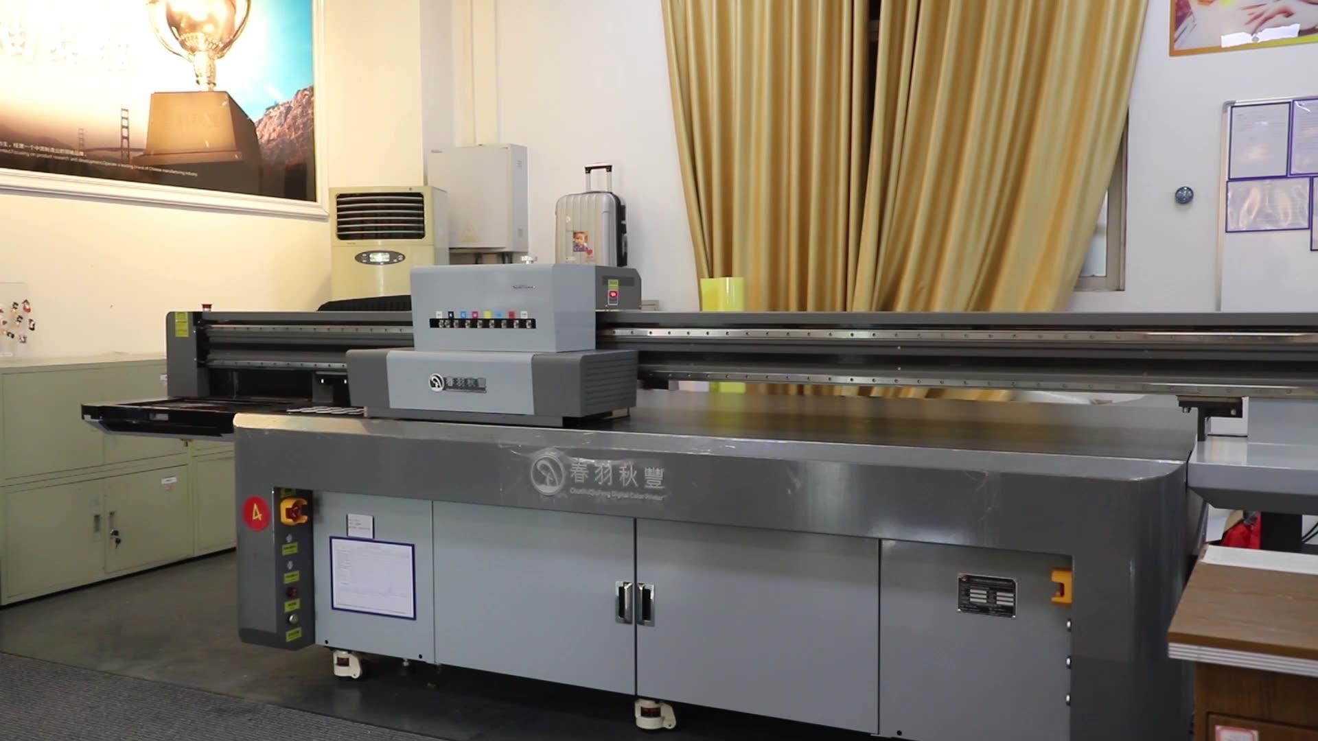 CF2513 Large Format Printers Guangzhou Digital Ceramic Printing Machine UV Inkjet Printer For Wall Mural