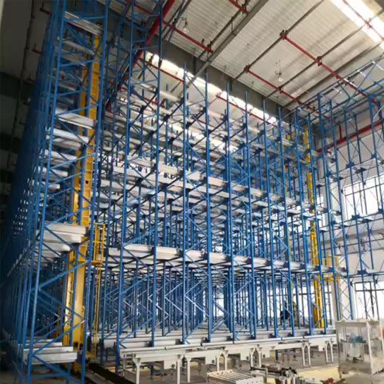 无人自动化立体仓库货架物流装备自动化设备厂家