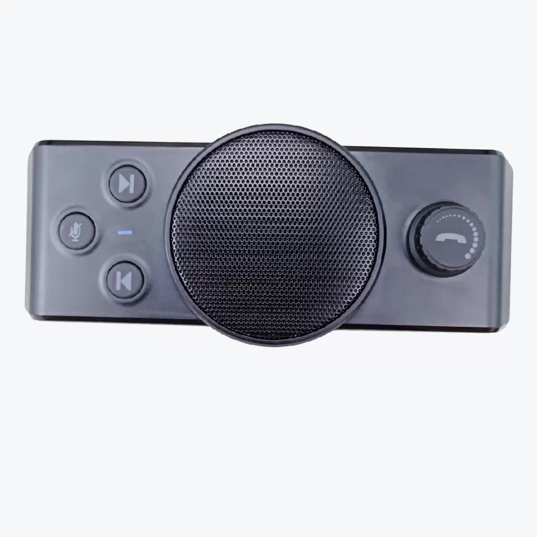 2020 New Model Portable Wireless Bluetooth Speakerphones Bluetooth Handsfree Car Kits