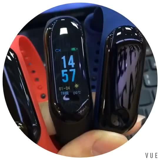 2019 Ucuz Smartwatch M3 akıllı bilezik ile nabız monitörü Kan Basıncı su geçirmez kordon akıllı saat