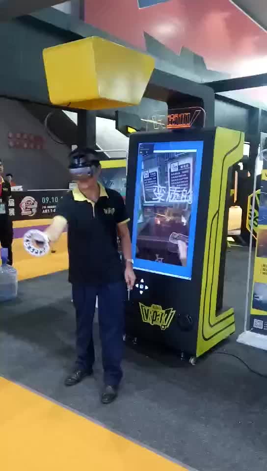 Entertainment Infinite Space Game Vr Selfed Arcade Business Machine Video Games For Sale