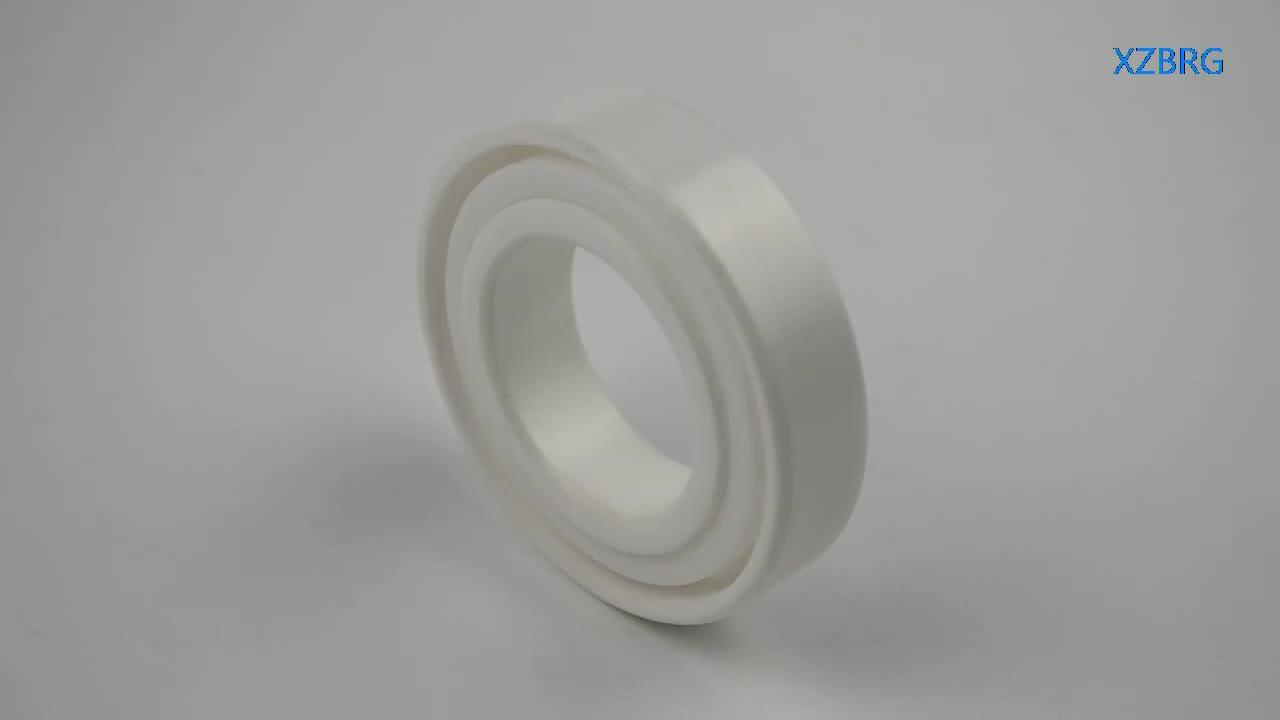PEEK plastic ball bearing 6004 with ceramic ball