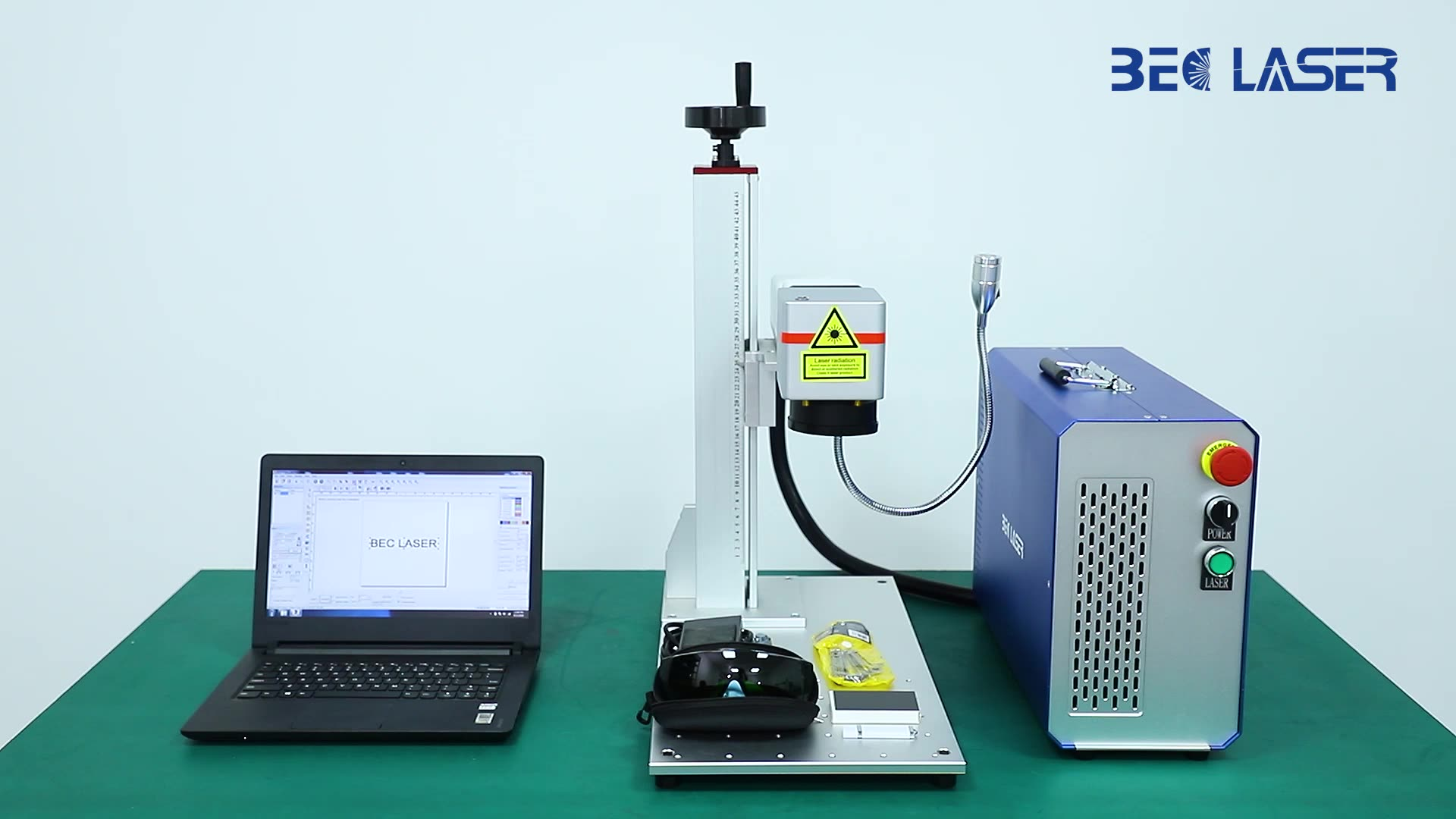 20w 30w 50w fiber jewelry gold silver aluminiumlaser cutting and marking machine for surgical instrument
