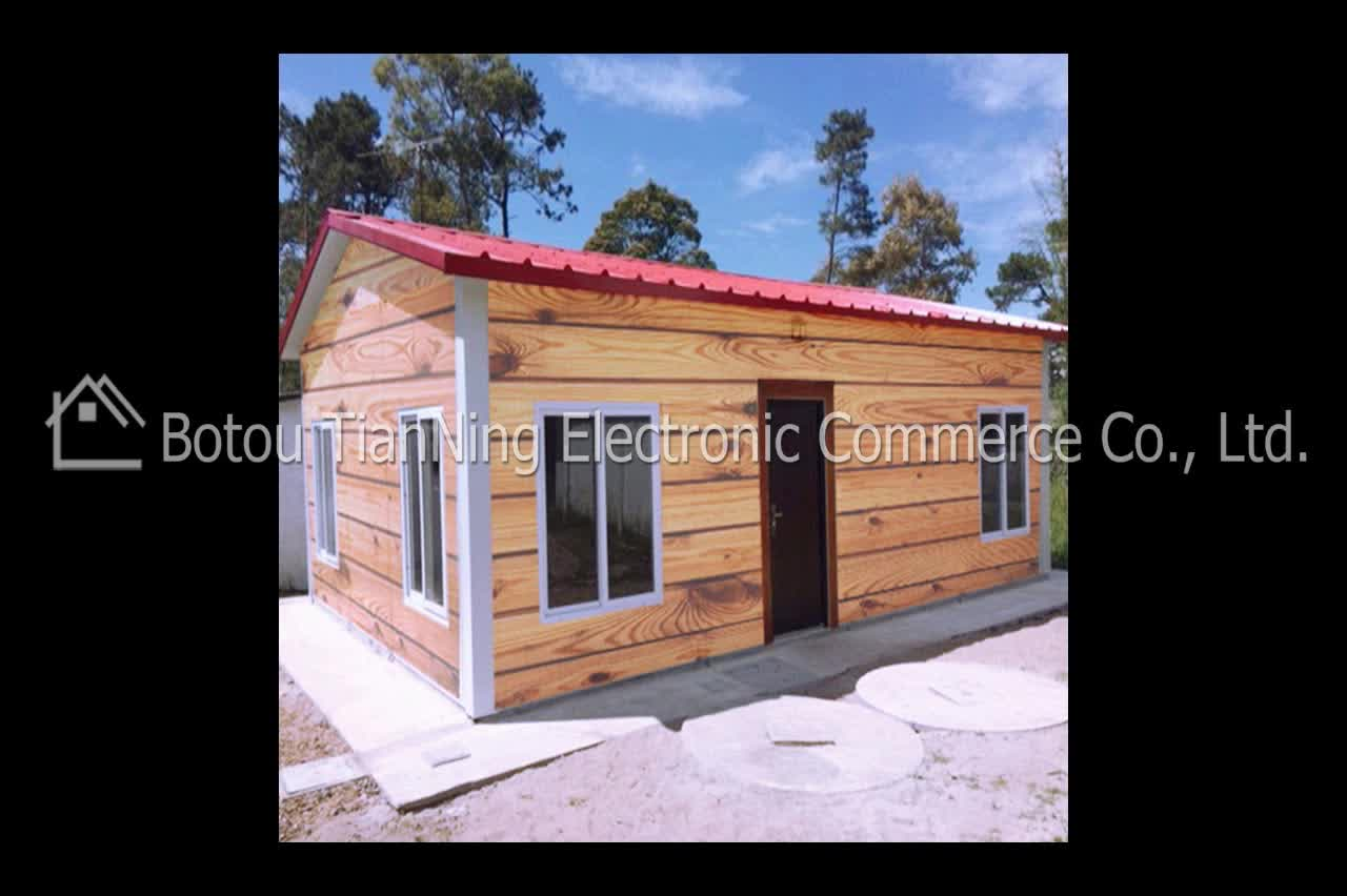 Low Cost Modular Prefab House With Wpc Concrete Panels