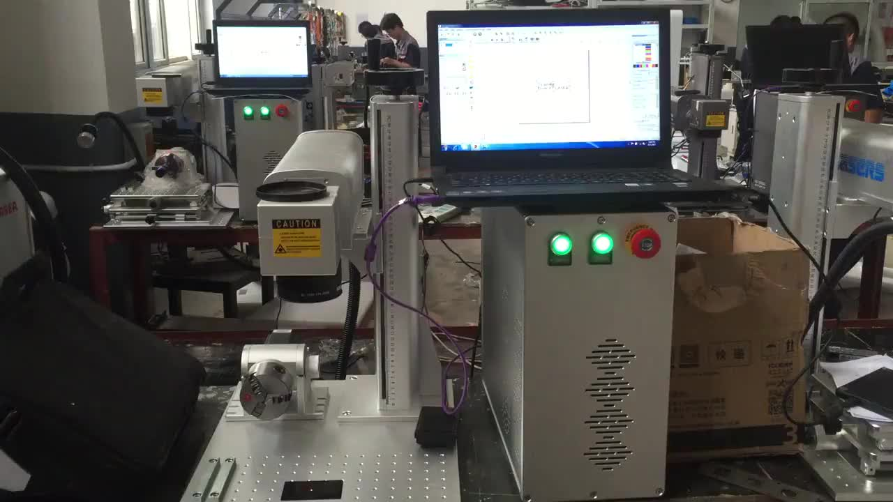 Split Portable Fiber Laser Marking Machine Jewelry Making Machine Fiber Laser