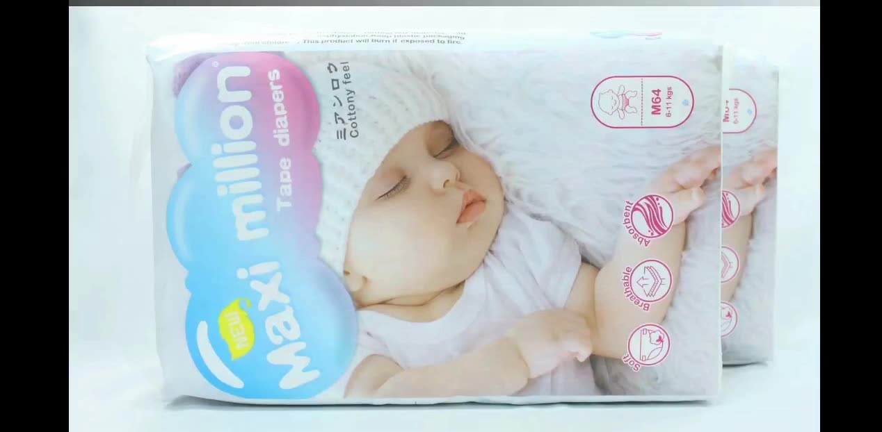 Manufacturer of hygiene products baby diaper  companies looking for Baby diapers distributors