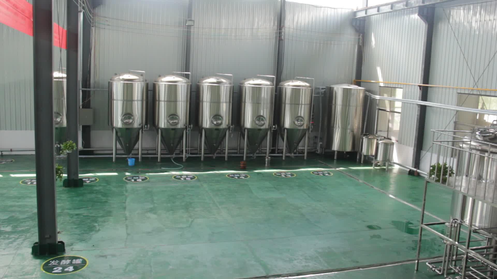500L 1000L 2000L 3000L बियर किण्वकों/किण्वन वाहिकाओं/शिल्प बियर और पक उपकरण
