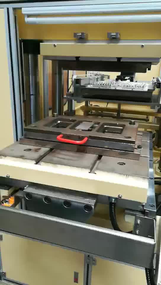 Dongguan profesyonel PC PMMA araba panoları telefon kılıfı IMD sıcak sıkıştırma termoform makinesi fabrika