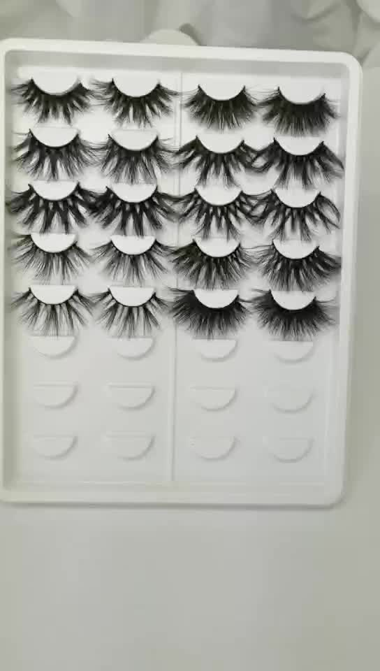 3d mink eye lashes paper boxes custom designing make up design private label 25 mm 3d mink lashes and custom package