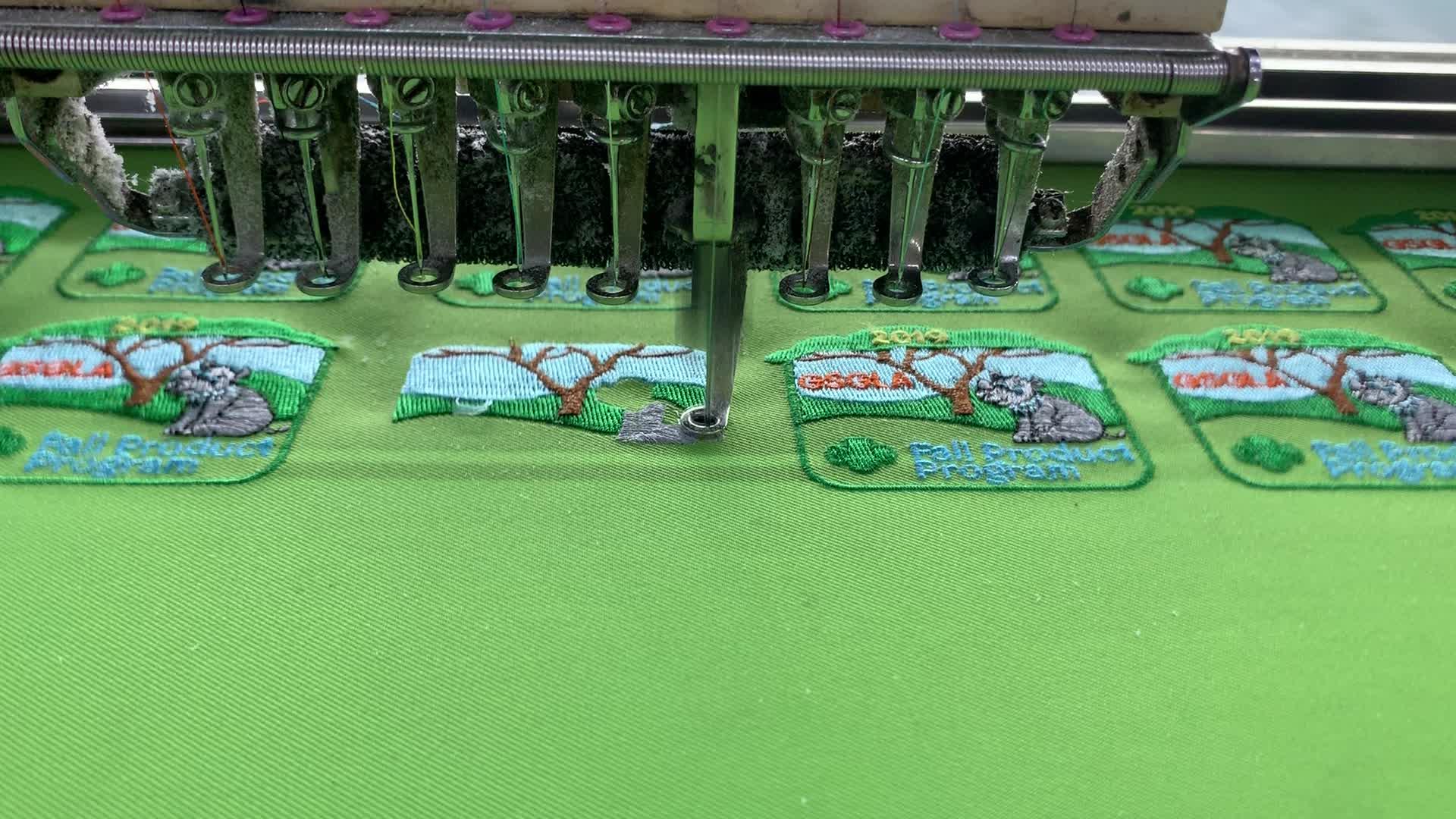 Kustom Pribadi Besi Di Bordir Patch Patch untuk Pakaian, Kualitas Tinggi Kartun Perekat Bordir Patch