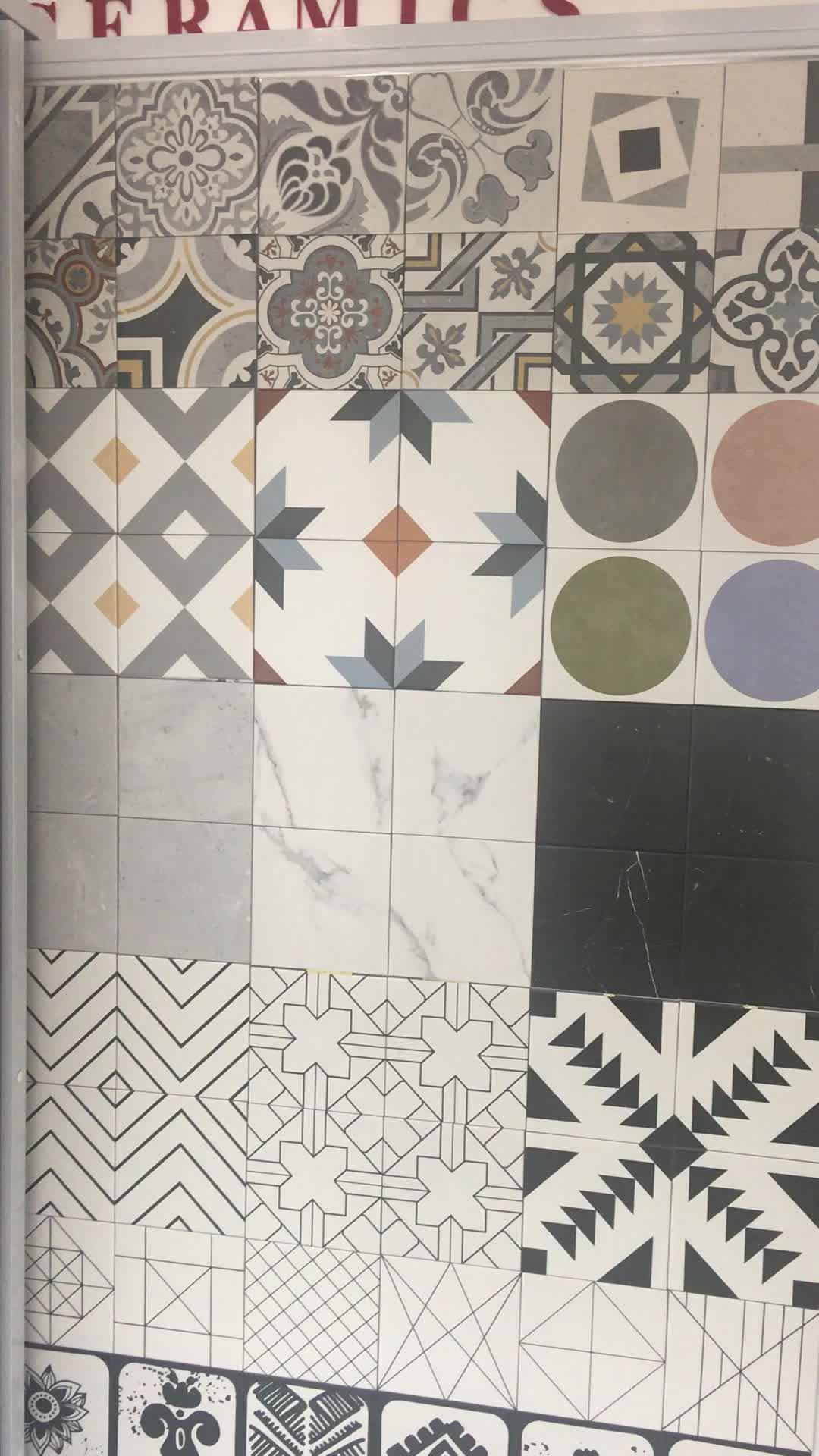 20 × 20 センチ家庭やキッチン純粋な白背景の壁の装飾タイル