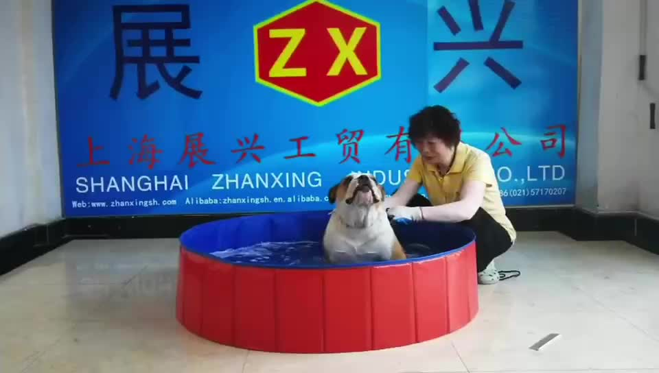للطي المحمولة الكلب بركة الحيوانات الأليفة حمام السباحة حوض سباحة