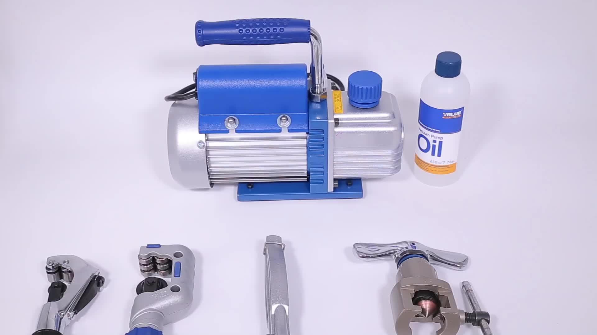 New refrigeration series single and double stage  mini ac vacuum pump  or hvac vacuum pump