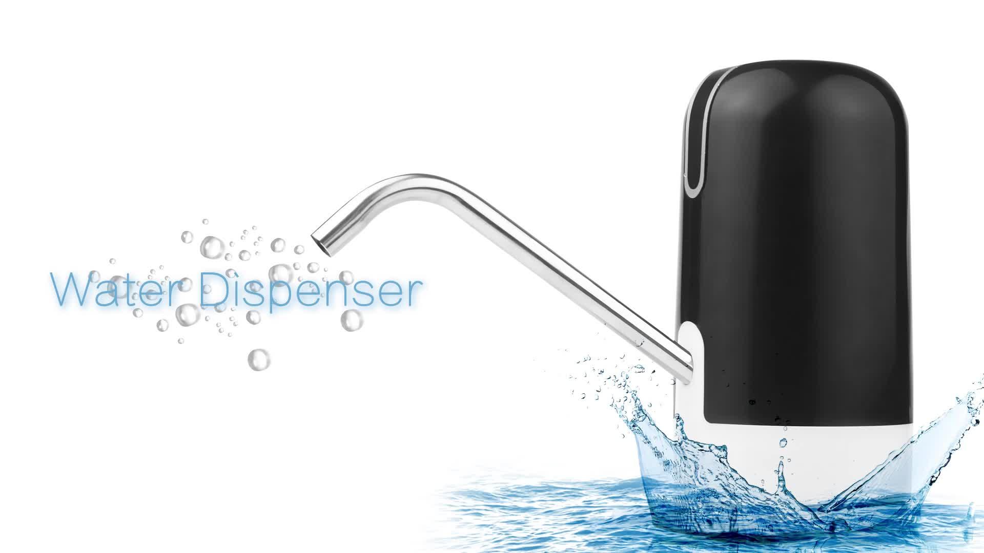 ONUEMP 2020 충전식 병 전기 식수 펌프 휴대용 미니 자동 물 디스펜서 Dispensador De Agua