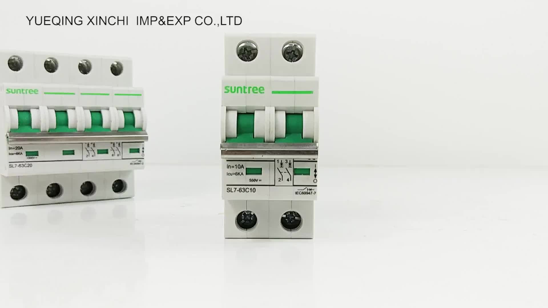 Professional Design 800v Mini Circuit Breaker Dc Mcb Electrical Off Miniature Module View For Solar Energy System