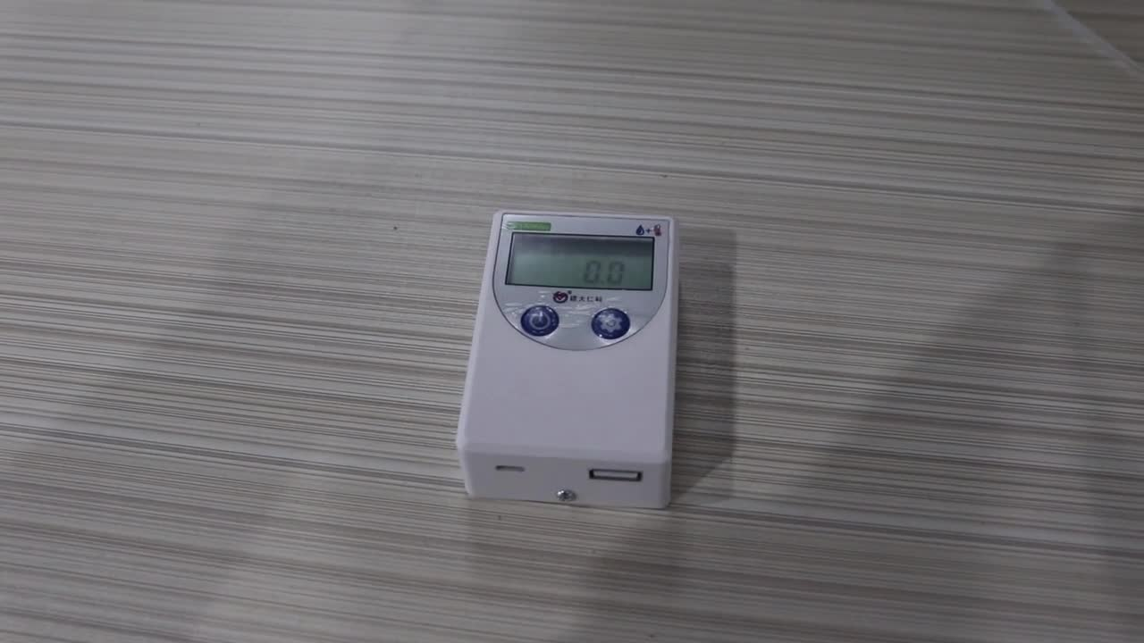SMS alarm WiFi temperature and humidity recorder