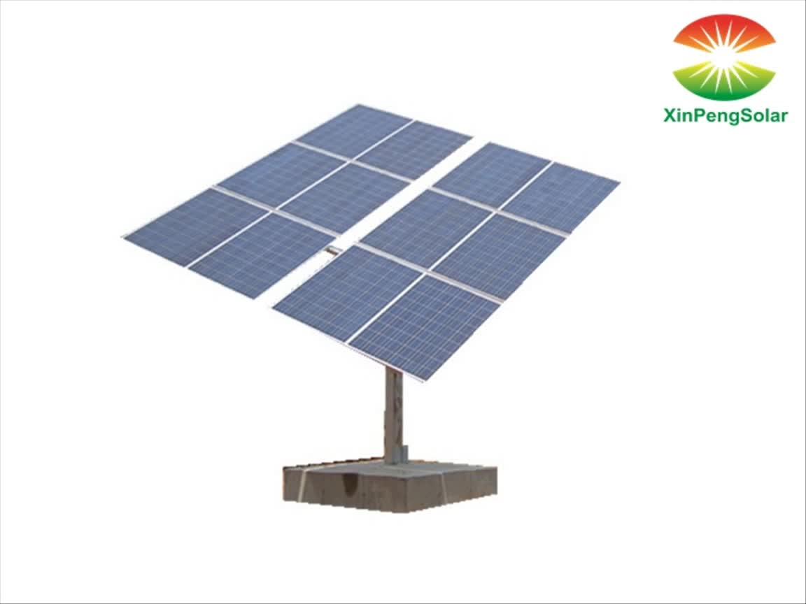 Dual achse 5kw solar tracking system