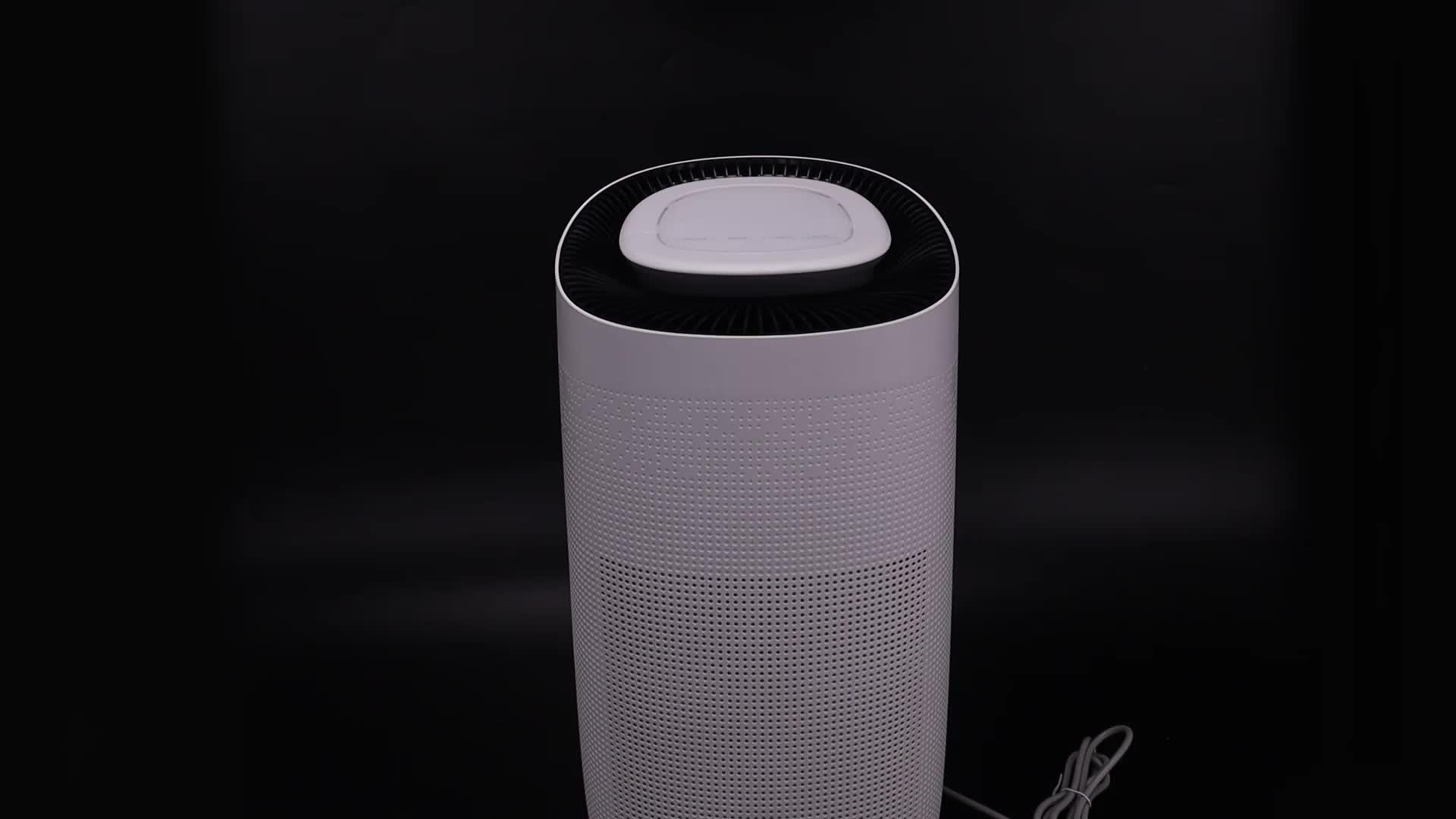 Oem Odm China Activated Carbon Hepa Filter Sensor Home Room Smart Portable Fresh Air Purifier