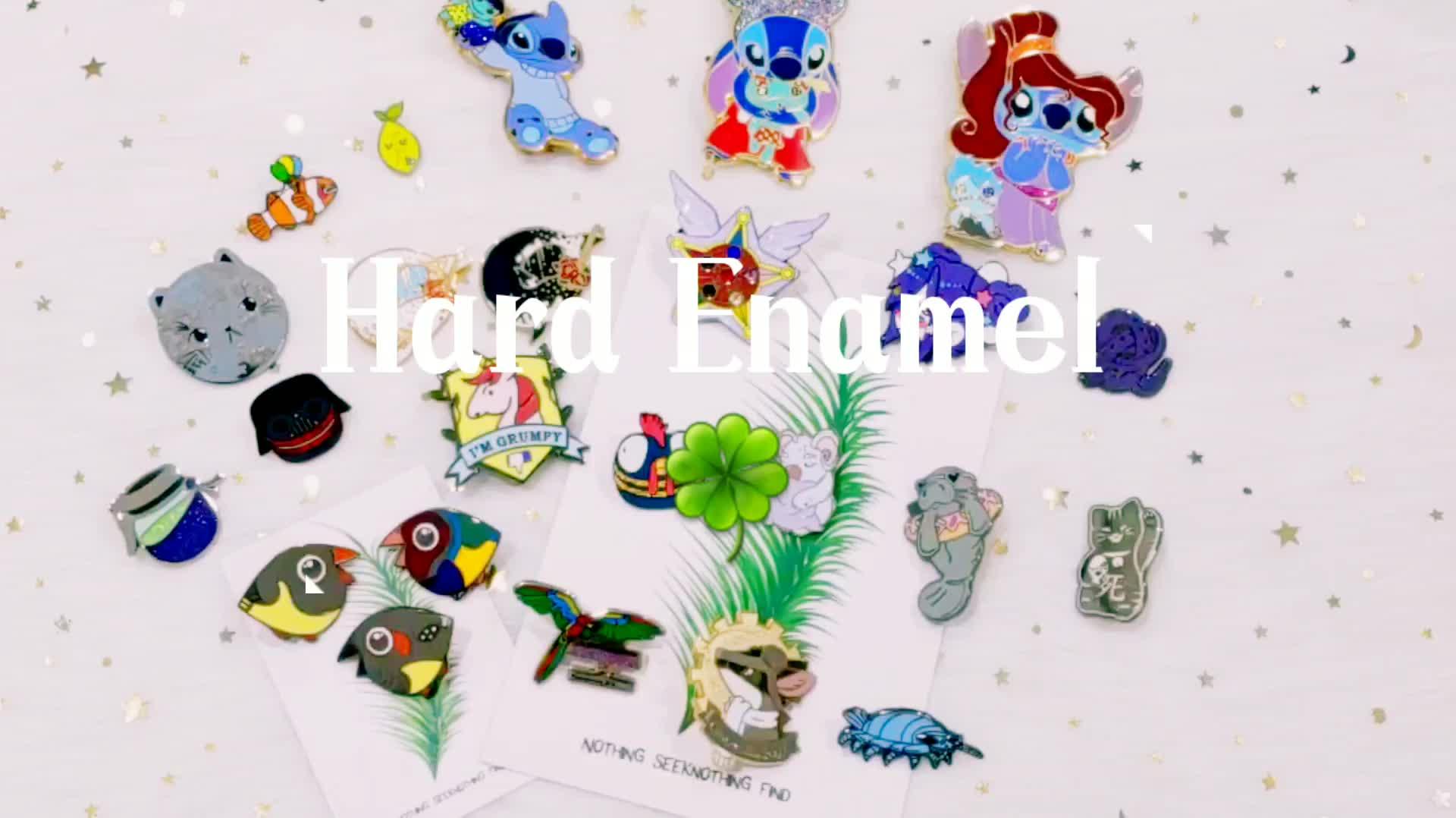 China Manufacturers Direct Custom Hard Enamel Lapel Pin