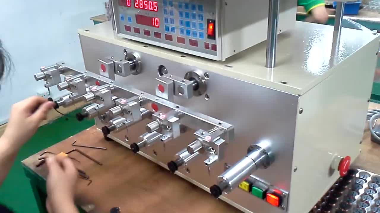 High Speed 6 Axis Fully Automatic Copper Wire CNC Transformer Winding Machine