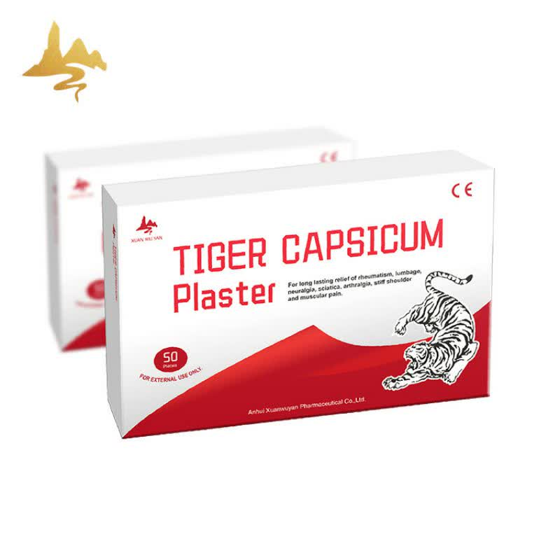 Oem Service Porous New Tiger Capsicum Plaster For Joint Back Pain Relief