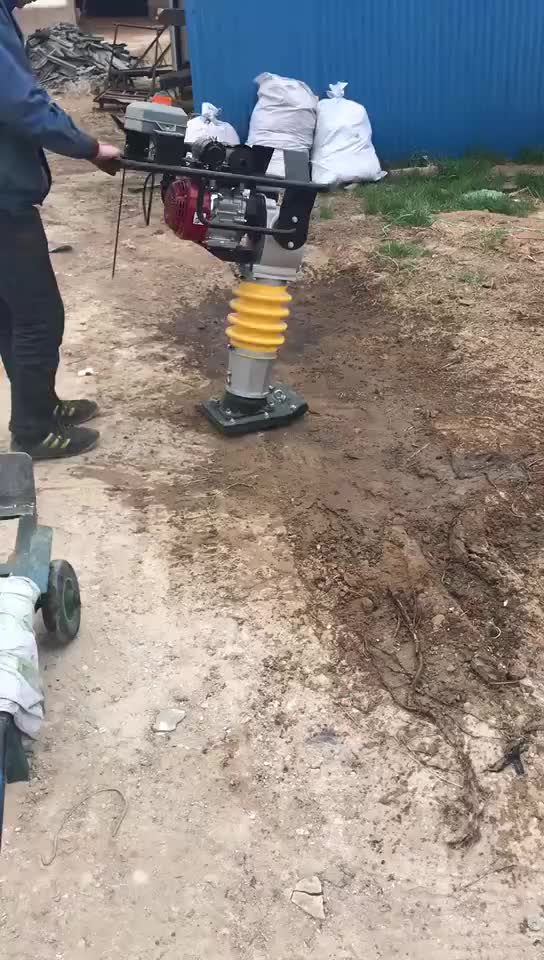 Portable Vibration Tamping Rammer for road Tamping Rammer