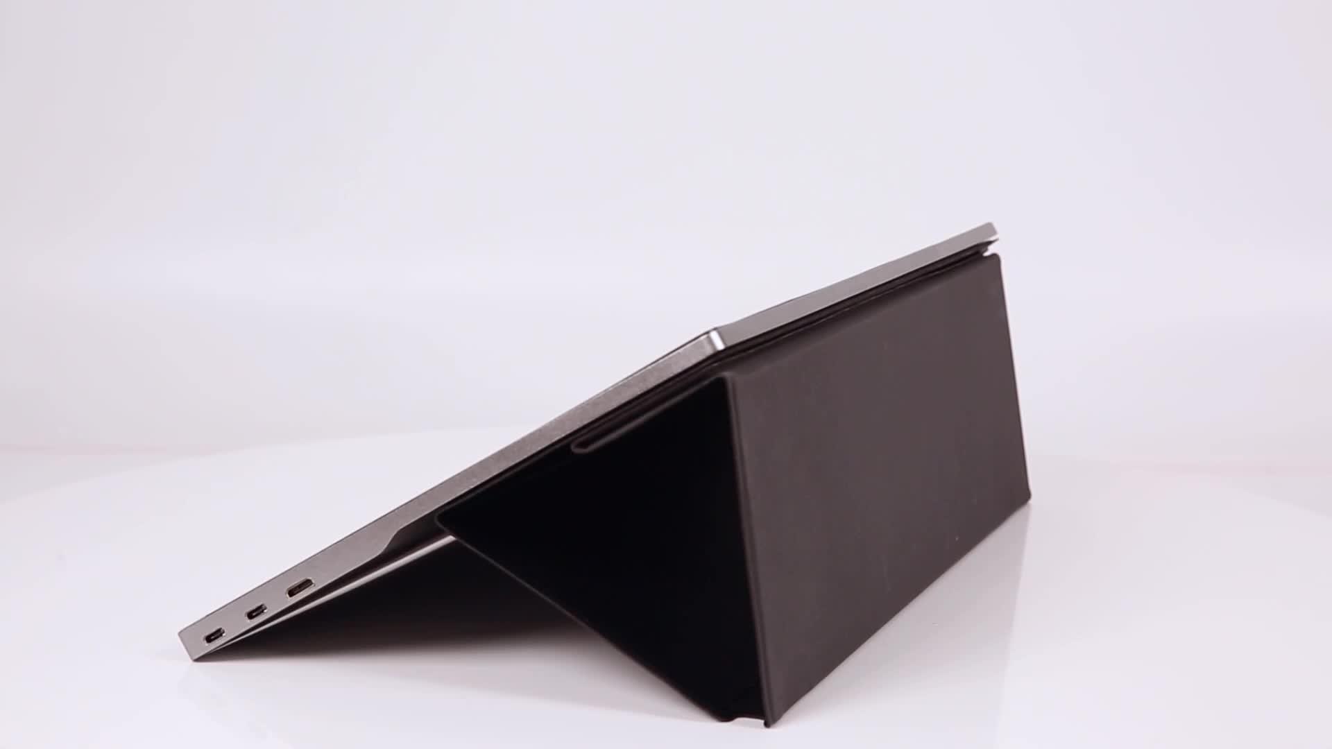 Fábrica al por mayor 15,6 pantalla táctil FHD1080p externo portátil al aire libre monitor pantalla de juego para teléfono laptopPC interruptor PS4 xbox