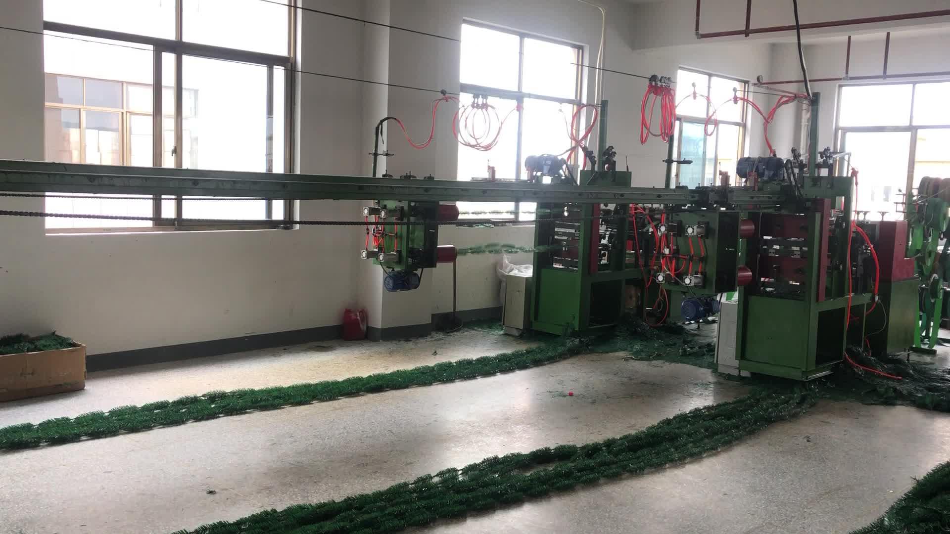 China venda decoração do partido personalizado natal suprimentos árvore de natal verde