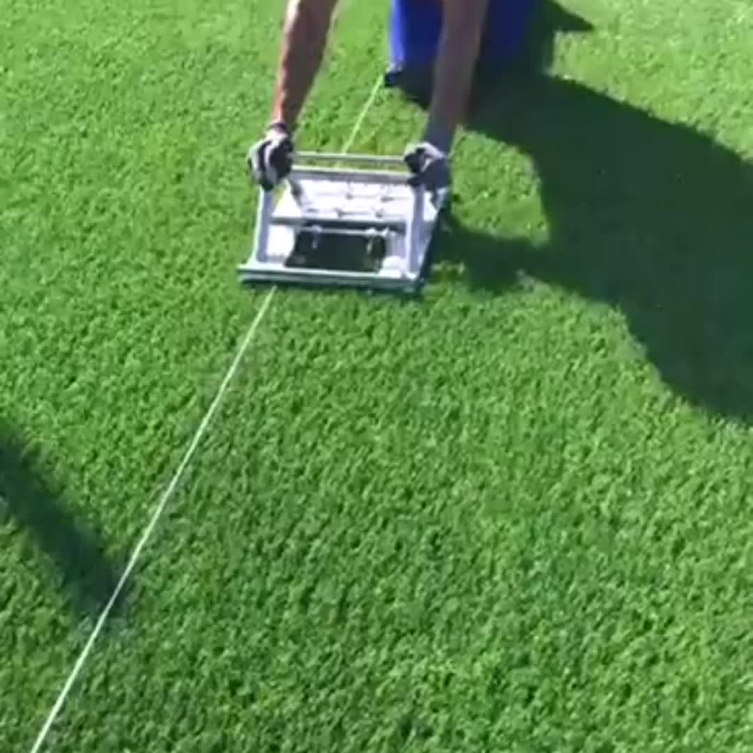 Pemotong Garis Rumput Sepak Bola, untuk Instalasi Rumput Buatan Garis Penanda Rumput Putih