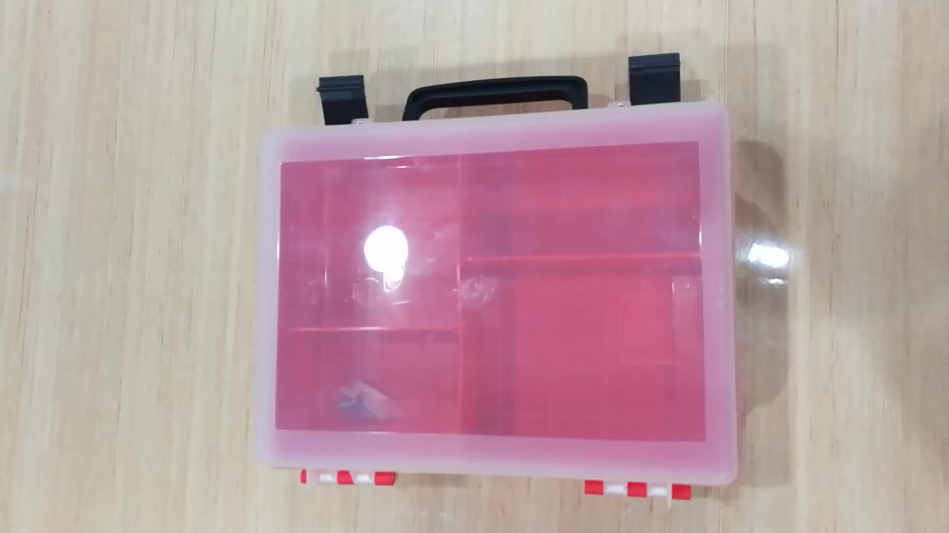 GAUKE BSCI FDA ISO CE Hot Sale Custom Wholesale Medical Bags Empty PP Plastic Box For Car/Home/Traveling  GKB800