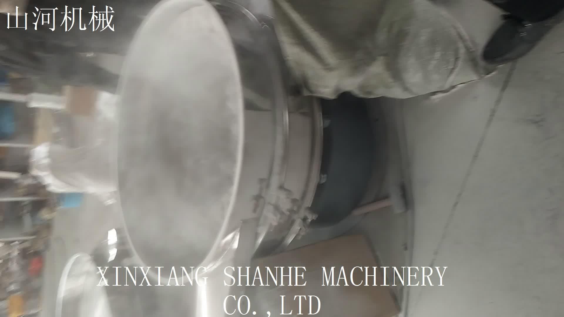 High efficiency Rotary vibrating screen machine diameter 600mm 2 layer SUS304
