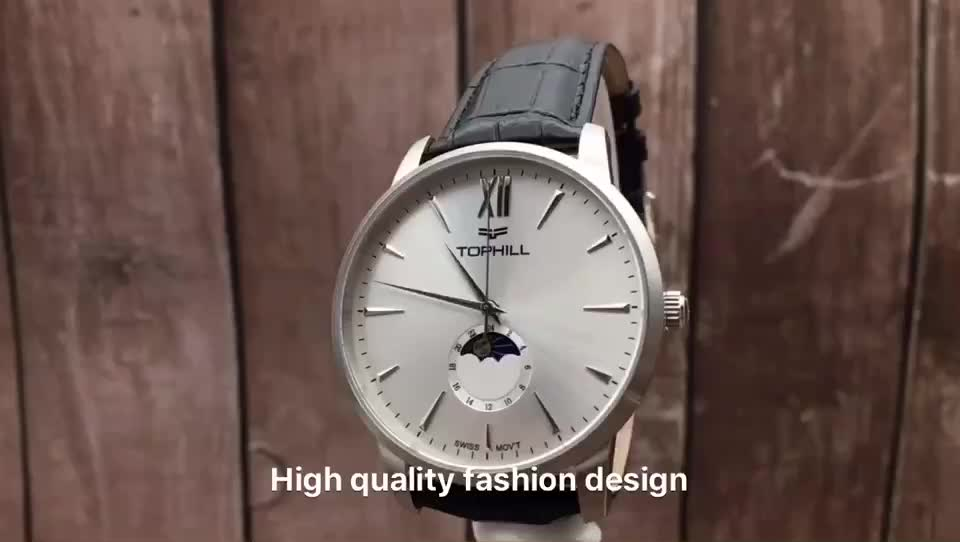 OEM Logo Custom Fashion Stainless Steel Hand Wristwatches Unique Brand Luxury Wrist Men Watches