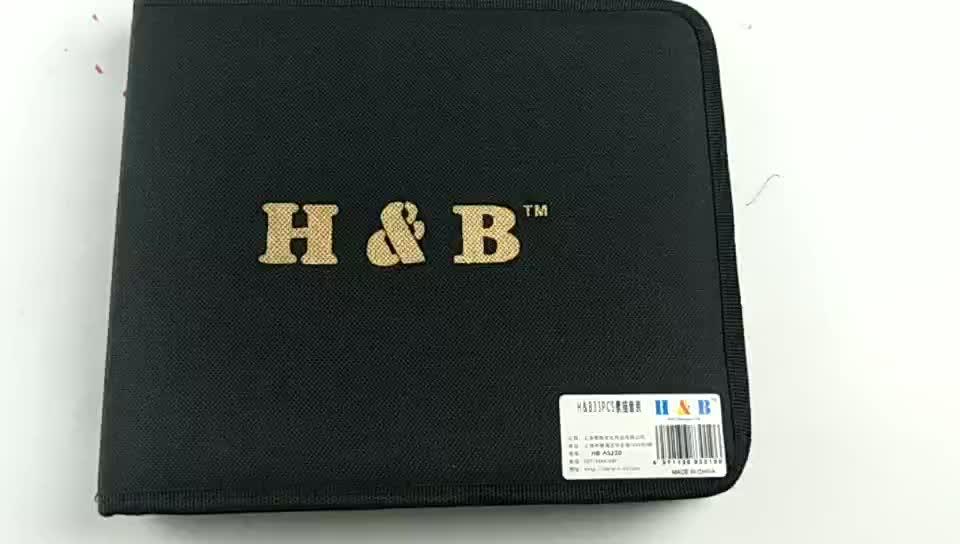 33 pz kit di alta qualità del sacchetto di disegno e disegno di arte set