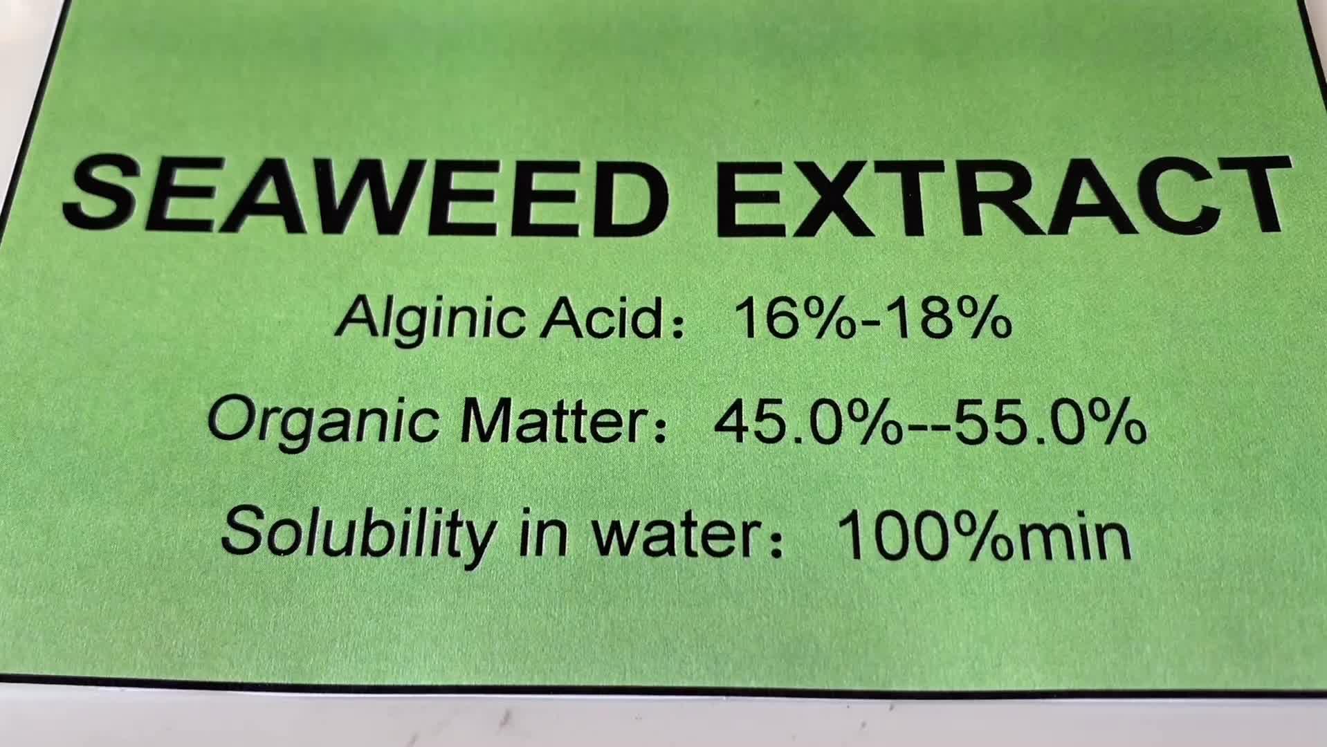 Alta qualidade algas marinas/fertilizant de Sargassum algas marinas/Extracto de algas marinas