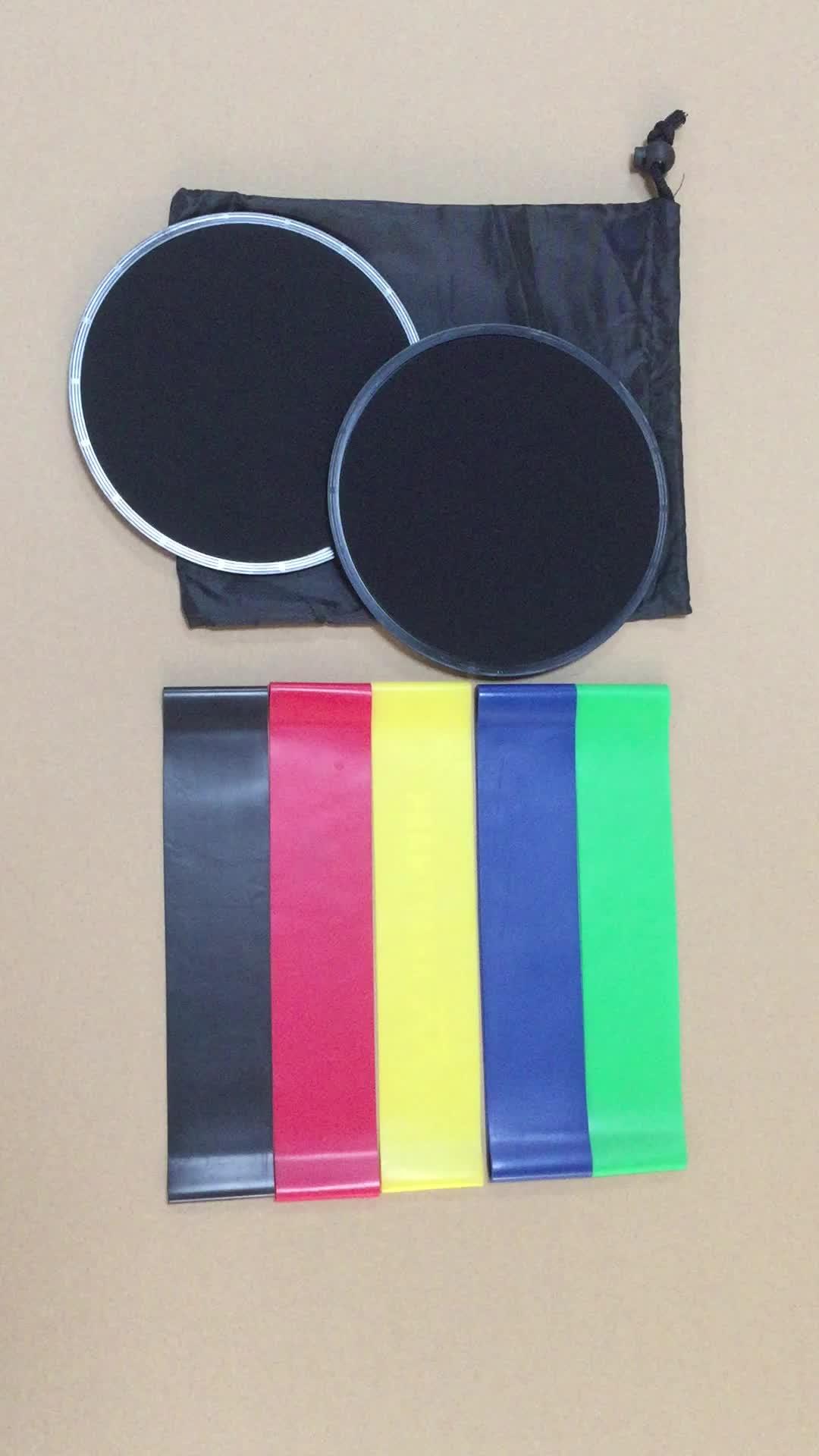 "Gym custom 10"" latex stretch band, custom mini loop band  custom resistance bands"