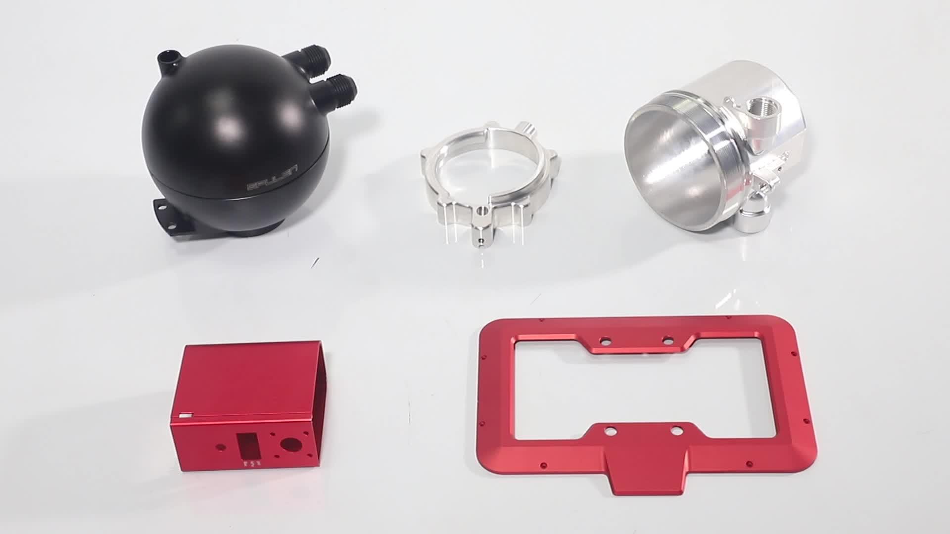 Custom Precision CNC Aluminum Anodized Frame CNC Machining Parts