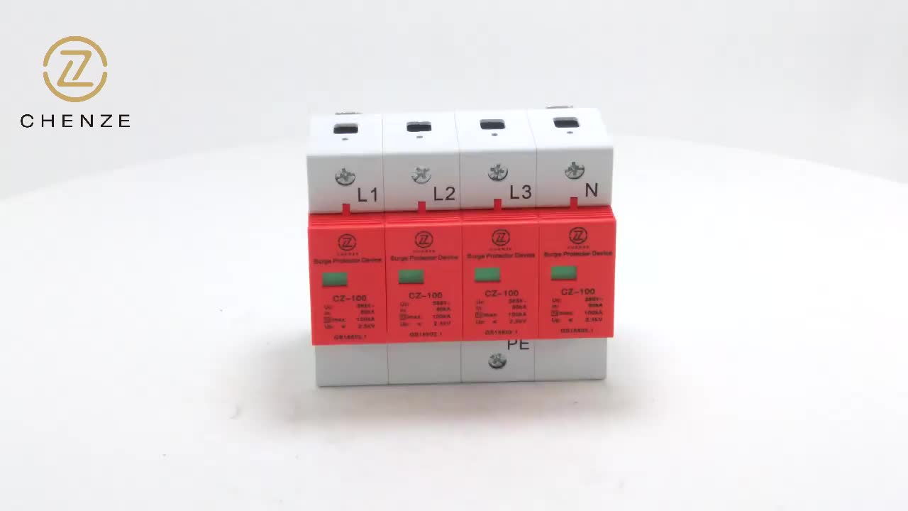 27mm OBO Type AC 220V Surge Protector Device SPD