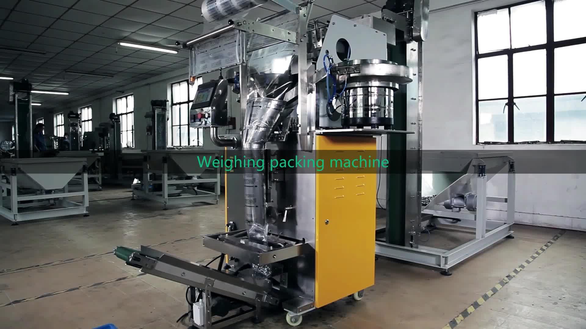 Automática Vertical tornillo hardware gránulos de embalaje de la máquina de sellado