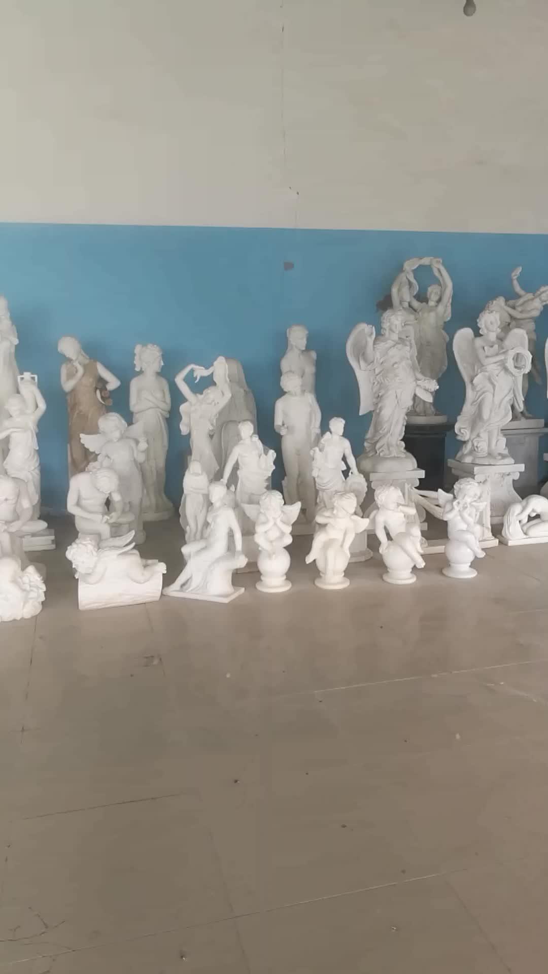 Famous Life-size Marble Statue of Apollo Bath