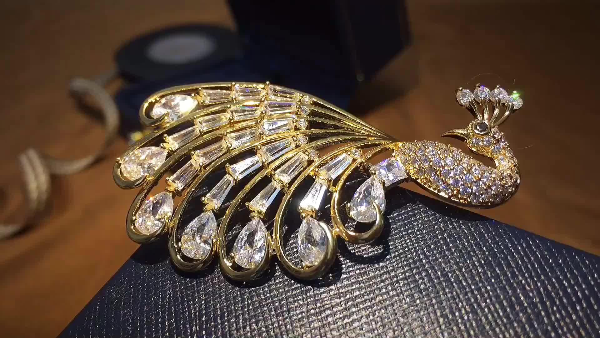 브로치 women latest 도매 sapphire 돌 wedding jewelry 브로치 지르콘 small 브로치
