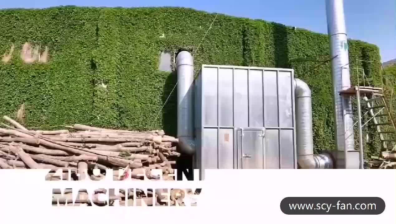 Coletor de Pó de madeira 20KW Para Máquinas Para Trabalhar Madeira