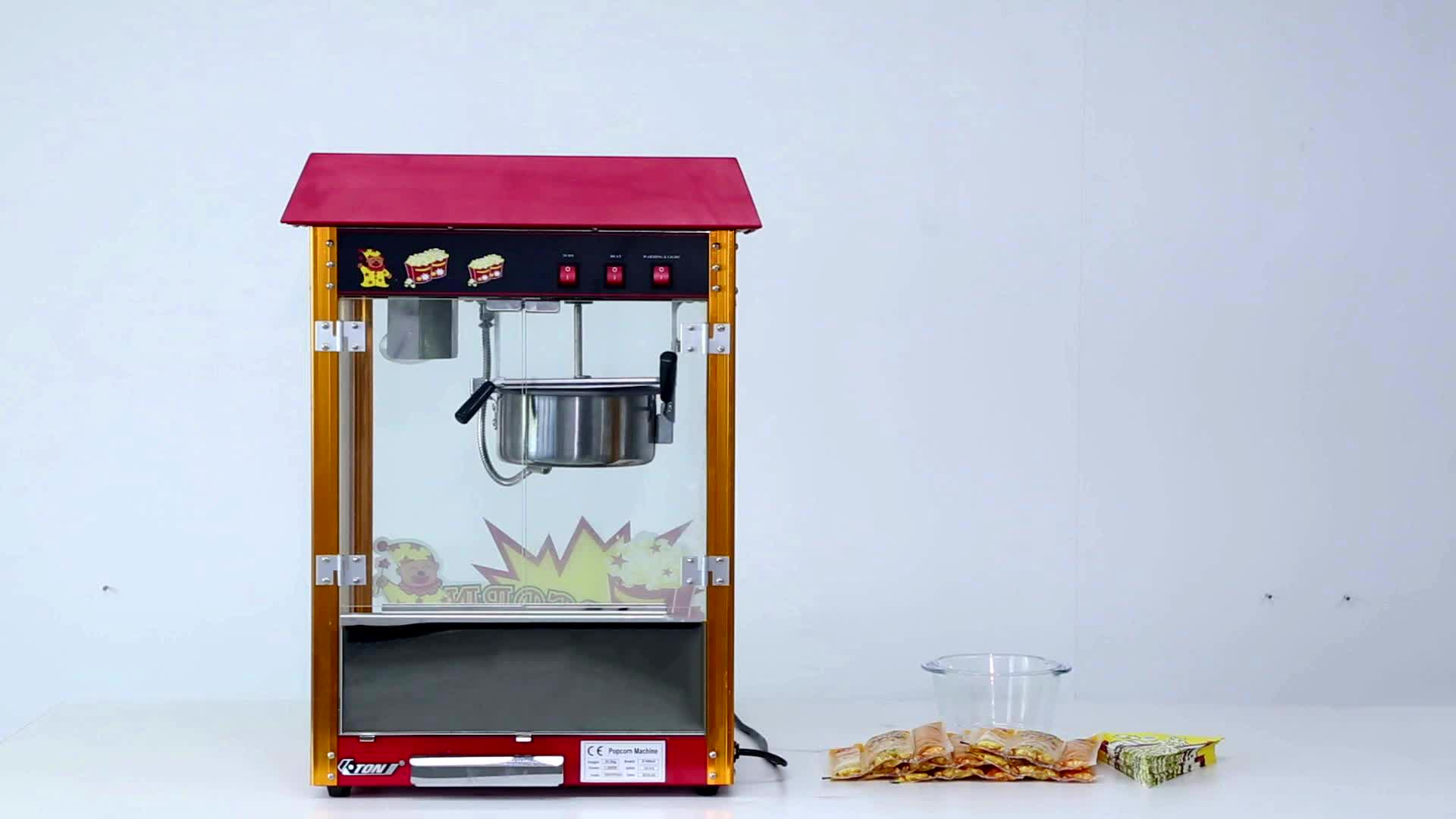 High Quality Electric Automatic Popcorn Equipment