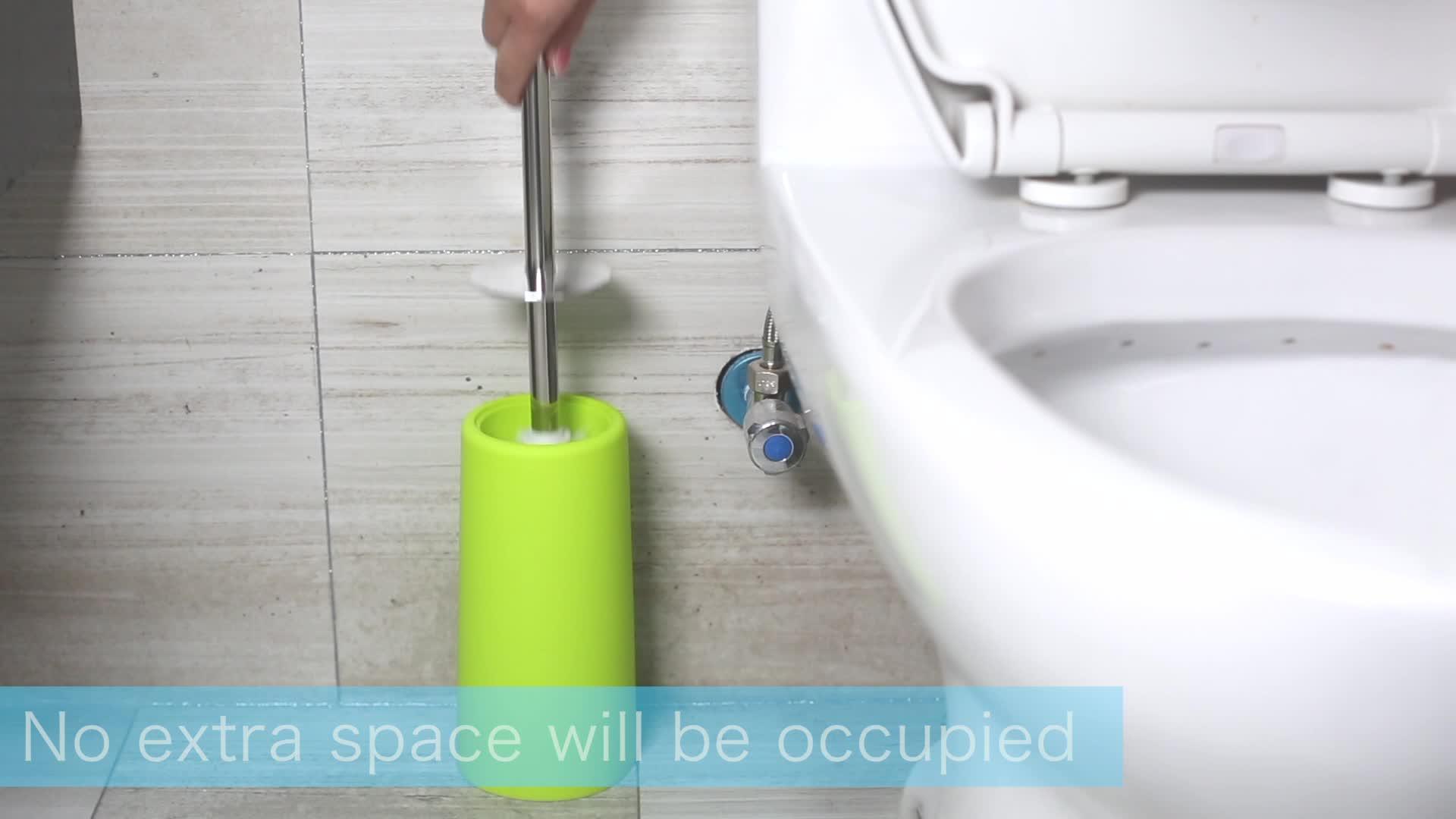 Hochwertige Haushaltsgeräte reinigen antibakterielle Toilettenbürste
