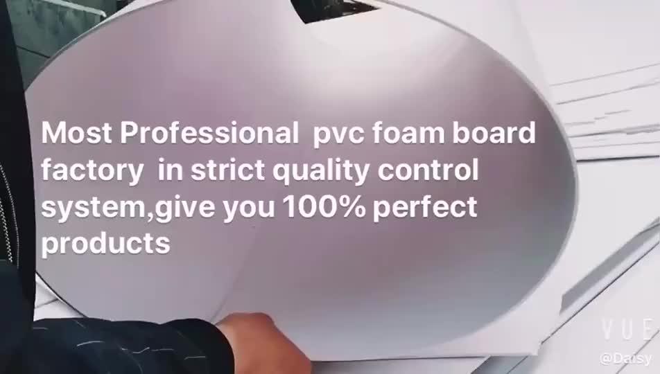 4 * 8ft 5mm folha da espuma do pvc outdoor placa do poster para a mobília de gabinete