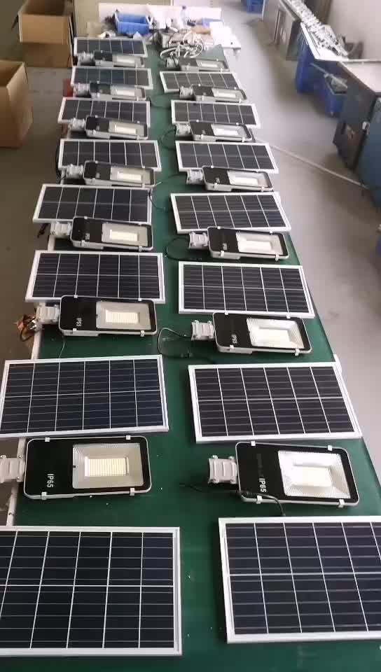Ao ar livre painel solar, iluminação de rua 150w 100w 50w solar rua lâmpada de luz ip65 à prova d' água