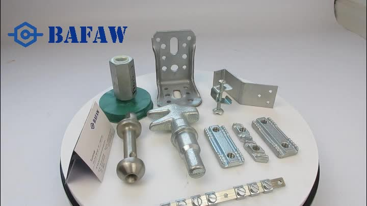 Building Materials channel single hole nuts zinc galvanized steel stamped parts Forged steel parts