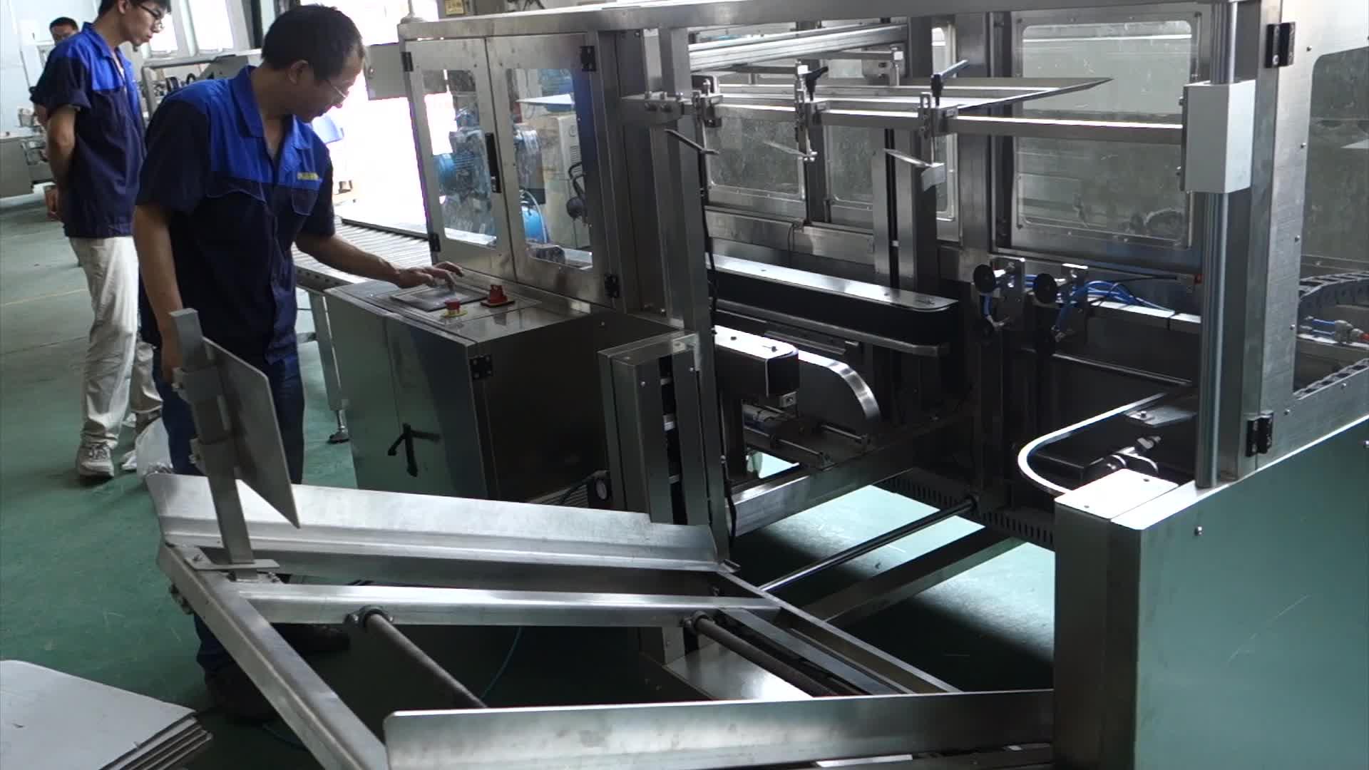 KXJ-6040L/Z Full Automatic Vertical Carton Paper Cardboard  Box Erector Forming Machine CLPACK